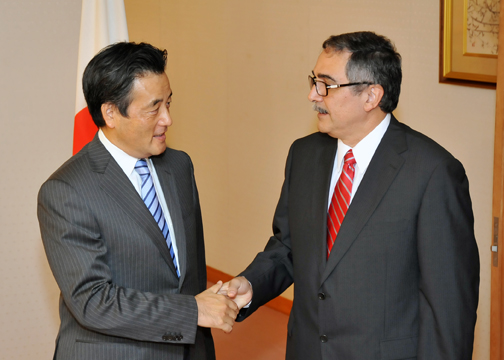 (photo) Japan-Costa Rica Foreign Ministers' Meeting