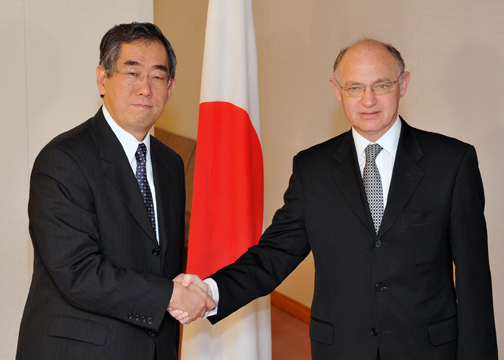 (Photo:Japan-Argentina Foreign Ministers' Meeting)