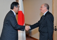 (Photo:Meeting Between Minister for Foreign Affairs Matsumoto and Minister of Foreign Affairs of Tunisia Kefi)