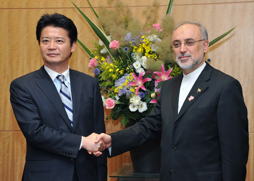 (Photo)Japan-Iran Foreign Ministers' Meeting (Overview)-1