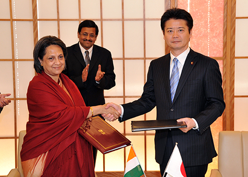 Mofa signing of the agreement between japan and republic of india signing of the agreement between japan and republic of india on social security 2 platinumwayz