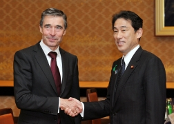 Meeting between Mr. Fumio Kishida, Minister for Foreign Affairs of Japan and Mr. Anders Fogh Rasmussen, NATO Secretary General (1)