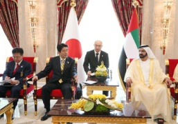 Prime Minister Abe's Visit to the United Arab Emirates (2)
