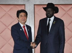 Japan-South Sudan Summit Meeting