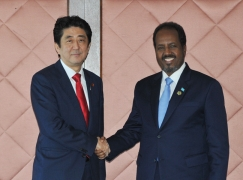 Japan-Somalia Summit Meeting