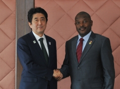Japan-Burundi Summit Meeting