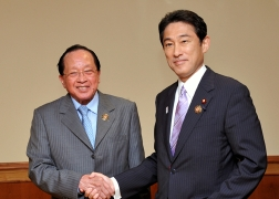 Japan-Cambodia Foreign Ministers' Meeting (1)