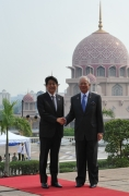 Japan-Malaysia Summit Meeting and Banquet Hosted by Prime Minister Dato' Sri Mohd Najib of Malaysia (2)