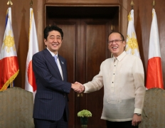 Japan-Philippines Summit Meeting<br>Photo: Cabinet Public Relations Office