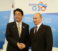 Japan-Russia Summit Meeting at the G20 Saint Petersburg Summit(1)