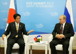Japan-Russia Summit Meeting at the G20 Saint Petersburg Summit(2)
