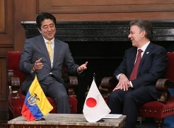 Japan - Colombia Summit Meeting