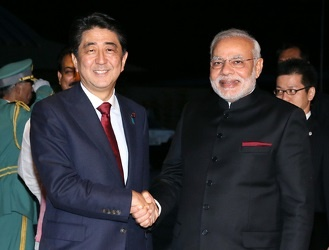 Visit to Japan of H.E. Mr. Narendra Modi, Prime Minister of India (August 30 - September 3, 2014)(Photos: Cabinet Public Relations Office)