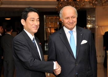 Japan-France Foreign Ministers' Meeting (October 5, 2014)