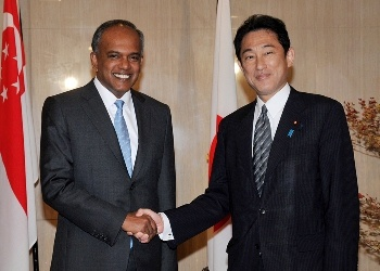Japan-Singapore Foreign Ministers' Meeting(October 23, 2014)