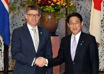 Japan-Iceland Foreign Ministers' Meeting(November 10, 2014)