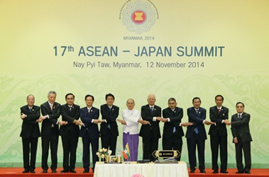 17th Japan-ASEAN Summit Meeting (November 12, 2014)(Photo: Cabinet Public Relations Office)