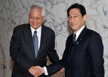 Japan-Philippines Foreign Ministers' Meeting(November 17, 2014)