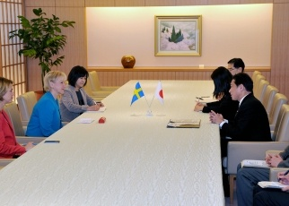 Japan-Sweden Foreign Ministers' Meeting 2