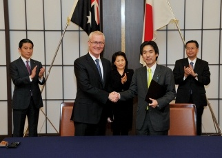 Japan and Australia for an Economic Partnership 3