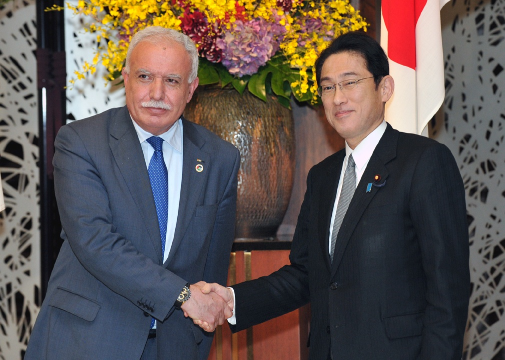 Meeting with Foreign Minister of the Palestinian Authority
