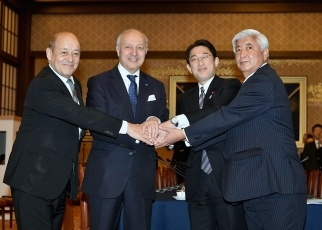 Second Japan-France Foreign and Defense Ministers' Meeting 1