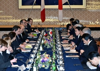Second Japan-France Foreign and Defense Ministers' Meeting 2