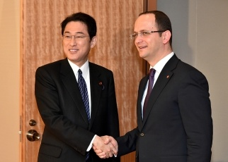 Japan-Albania Foreign Ministers' Meeting 1