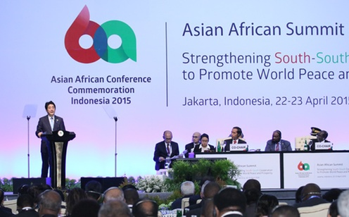 Address by Prime Minister Abe at the Asian-African Summit