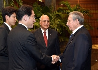 Courtesy calls on H.E. Mr. Raúl Castro Ruz, President of the Council of State