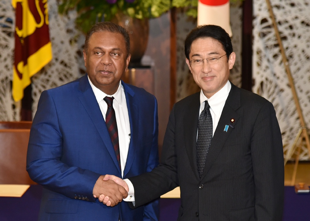 Japan-Sri Lanka Foreign Ministers' Meeting