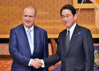 Japan-Cyprus Foreign Ministers' Meeting and Working Dinner 1