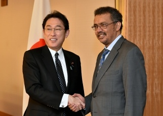 Japan-Ethiopia Foreign Ministers' Meeting 1