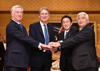 Second Japan-UK Foreign and Defence Ministerial Meeting 1