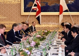 Second Japan-UK Foreign and Defence Ministerial Meeting 2