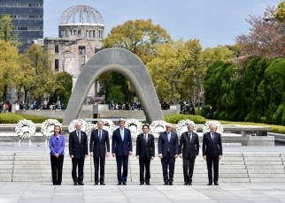 Comment by Foreign Minister Kishida on G7 Foreign Ministers' Visit to Hiroshima Peace Memorial Park 3