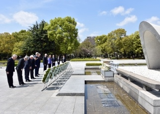 Comment by Foreign Minister Kishida on G7 Foreign Ministers' Visit to Hiroshima Peace Memorial Park2