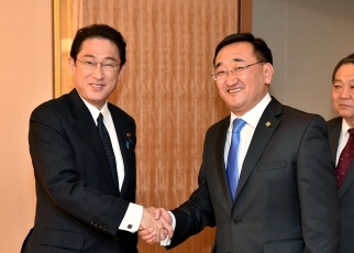 Japan-Mongolia Foreign Ministers' Meeting 1