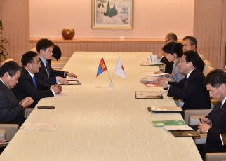 Japan-Mongolia Foreign Ministers' Meeting 2