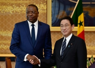 apan-Senegal Foreign Ministers' Meeting and Working Lunch 1