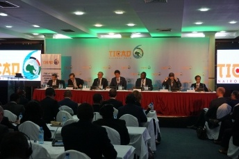 TICADVI official side-event on the Japan-France partnership for Africa (photo)
