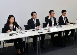 Japan-U.S.-ROK Trilateral Foreign Ministers' Meeting 2
