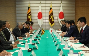 photo3: Japan-Sri Lanka Summit Meeting