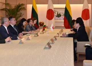 Japan-Lithuania Foreign Ministers' Meeting2