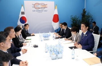Japan-ROK Summit Meeting2