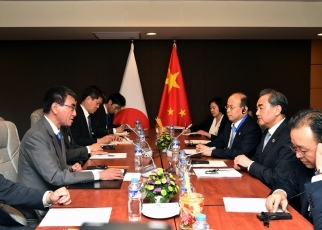 Japan-China Foreign Ministers' Meeting 3