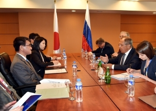 photo2: Japan-Russia Foreign Ministers' Meeting