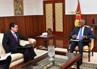 Japan-Mozambique Foreign Ministers' Meeting 2