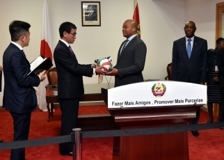 Japan-Mozambique Foreign Ministers' Meeting 3
