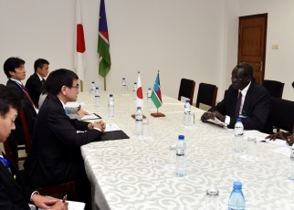 Japan-South Sudan Foreign Ministers' Meeting2